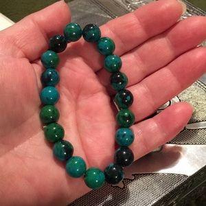 Jewelry - Gorgeous Brazilian green Amazonite bracelet.